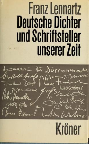 Deutsche Dichter und Schriftsteller unserer Zeit