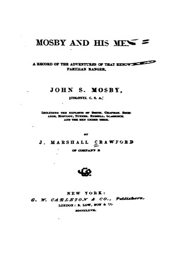 Download Mosby and his men