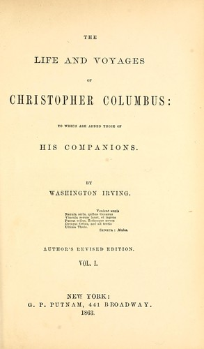 Download The life and voyages of Christopher Columbus
