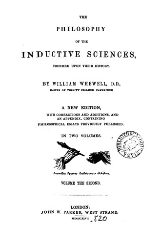 Download The philosophy of the inductive sciences