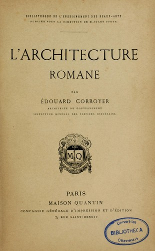 Download L' architecture romane