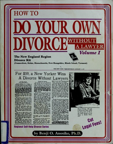 Download How to Do Your Own Divorce With Out a Lawyer
