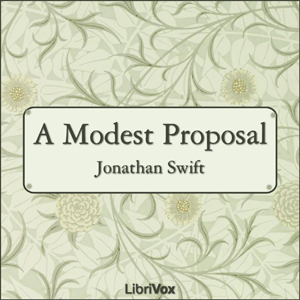 Modest Proposal(177) by Jonathan Swift audiobook cover art image on Bookamo