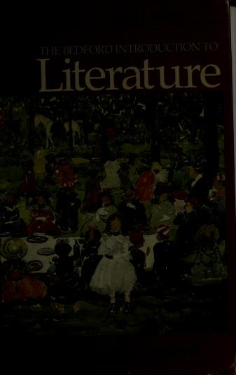 Cover of: The Bedford introduction to literature | [edited by] Michael Meyer.