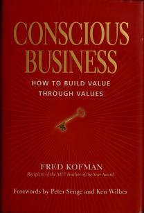 Conscious business book
