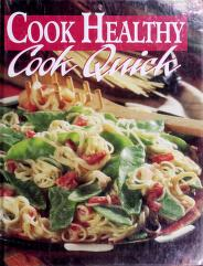 Cover of: Cook Healthy Cook Quick | Sunset Books