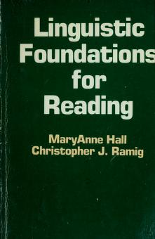 Cover of: Linguistic foundations for reading | MaryAnne Hall