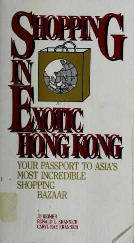 Cover of: Shopping in exotic Hong Kong   Jo Reimer