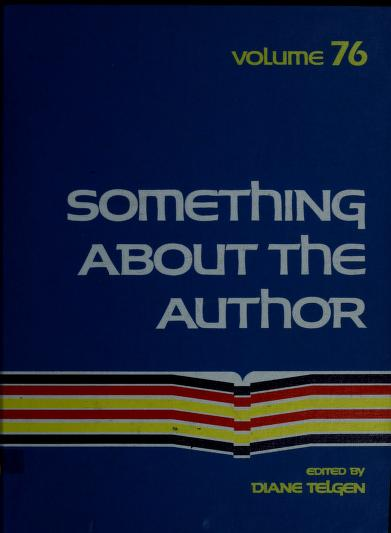 Something About the Author v. 76 by Diane Telgen